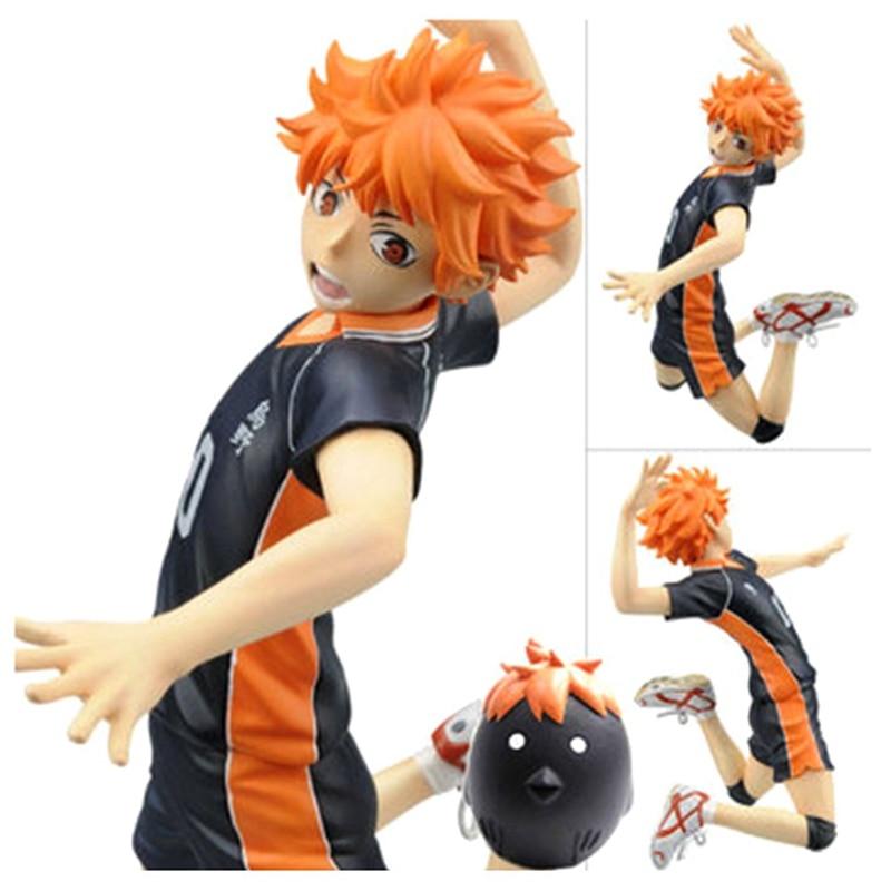 Anime Haikyuu Volleyball Athlete Hinata Syouyou Shoyo PVC Action Figure Collection Model Toys DollAction & Toy Figures   -