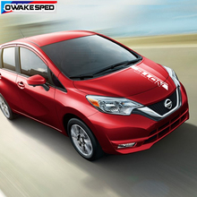 Car Bonnet Stickers For Nissan Note NISMO S Power Sport Stripes Racing Styling Auto Engine Cover Vinyl Decals