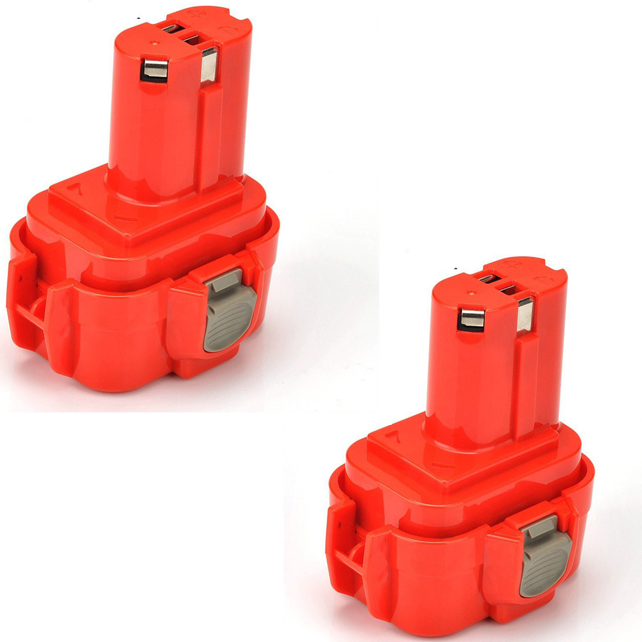 2pcs x <font><b>9.6V</b></font> Ni-MH rechargeable <font><b>battery</b></font> cell pack 3000mah for <font><b>makita</b></font> cordless Electric drill screwdriver 6207D 6222D 6226D 6260D image