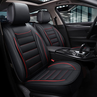 New PU Leather Auto Universal Car Seat Covers for brilliance faw v5 byd s6 s7 changan cs35 jac s3 lifan solano x50 x60