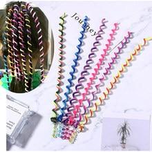 Colorful Cute Girl Curler Hair Braid Hair Styling Tools Hair Roller Braid Tie Gum Women Hair Accessories DIY Hairstyle Tool