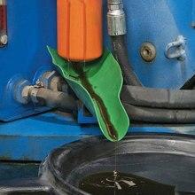 Ferramenta de drenagem flexível funil aditivo óleo da motocicleta máquina agrícola funil carro reabastecimento mais funil gasolina