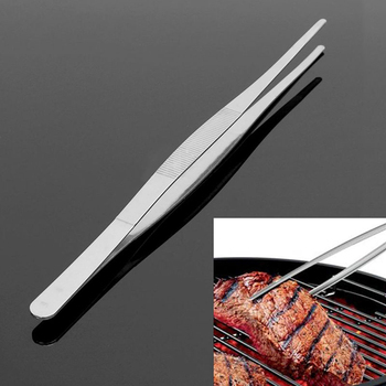 Barbecue Food Tongs Clips Non Stick Kitchen Heat Resistance Tweezers Mangal Buffet Bbq Picnic Restaurant Tool image