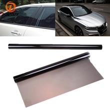 POSSBAY 50*600cm Black Car Window Film 35% VLT Auto Van Window Tint Sticker Foil Solar Protection Car Styling