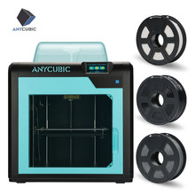 Anycubic 4Max Pro 3D Printer 3.5Inch Layar Sentuh Ukuran dengan Ultrabase Sarang FDM 3D Printer Kit Impressora 3D drucker(China)