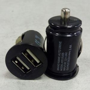 Dual USB Car Charger Car Quick Charger Phone Adapter Mini Dual USB Car Charger