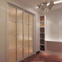 Gold Frosted Decorative Vinyl Film Window Stickers Static Privacy Glass Translucent opaque Bedroom Office Home Decor