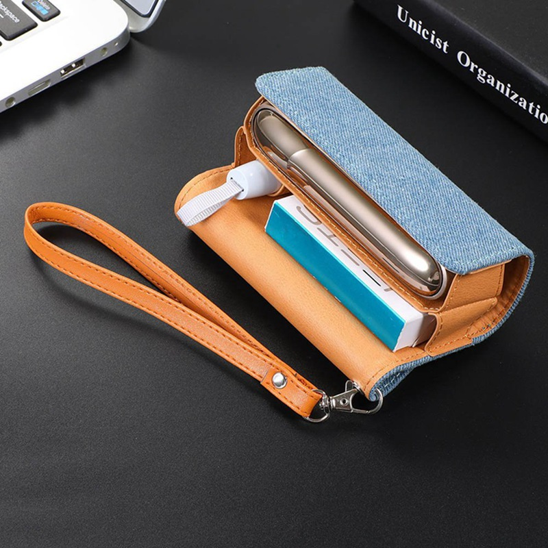 1pc High Quality Cover Case For Iqos 3 Cigarette Accessories Carrying Protective Leather Case For Iqos 3 0