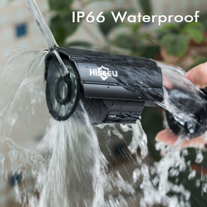 Image 4 - Hiseeu 5MP 1080P AHD מצלמה מתכת מקרה חיצוני עמיד למים Bullet CCTV מצלמה מעקבים מצלמה עבור טלוויזיה במעגל סגור DVR מערכת אבטחה