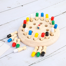 Chess-Game Memory-Chess Kids Educational-Toys Parent-Child Montessori Puzzle Wooden Exercise