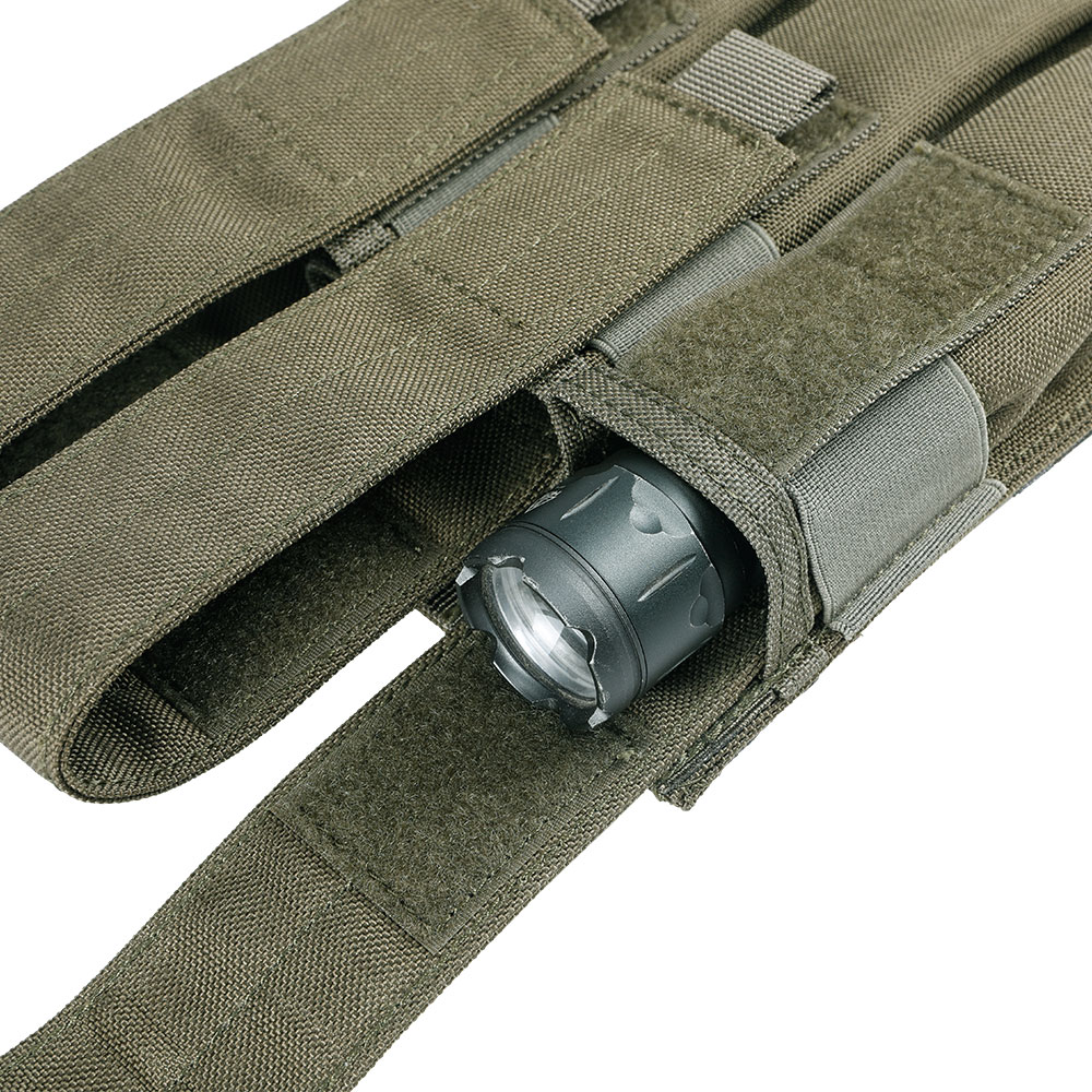 Outdoor Tactical Triple KRISS / MP7 Magazine Chest Rig Hunting Military Molle Accessories Cartridge Bags