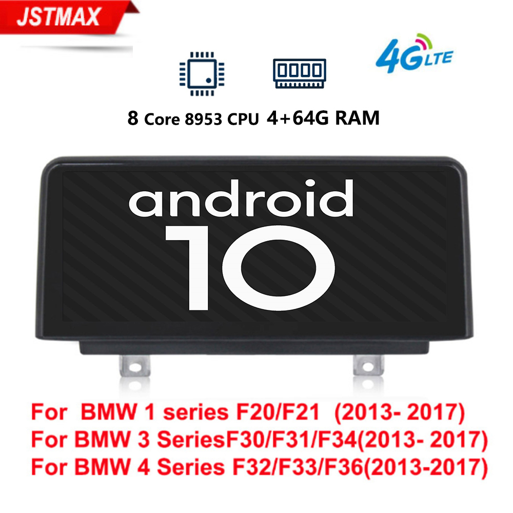 IPS car radio player for <font><b>BMW</b></font> <font><b>F30</b></font>/F31/F34/F20/F21/F32/F33/F36 original NBT <font><b>Android</b></font> 10.0 8core autoradio gps navigation multimedia image