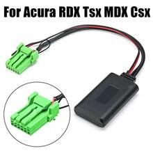 AUX в модуле Bluetooth 5,0 музыка 6 Pin стерео с кабелем высокоскоростная автомобильная аудио Профессиональная передача данных для Acura