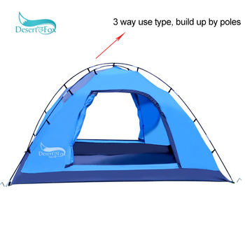 Desert&Fox Automatic Tent 3-4 Person Camping Tent,Easy Instant Setup Protable Backpacking for Sun Shelter,Travelling,Hiking 6