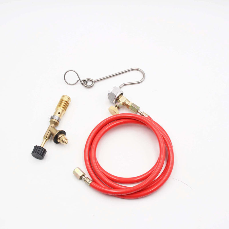 MAPP Oxygen-Free Hose structure US Welding Welding Torch With Propane One-Pound Gas Portable Torch American Brass Cylinder Torch
