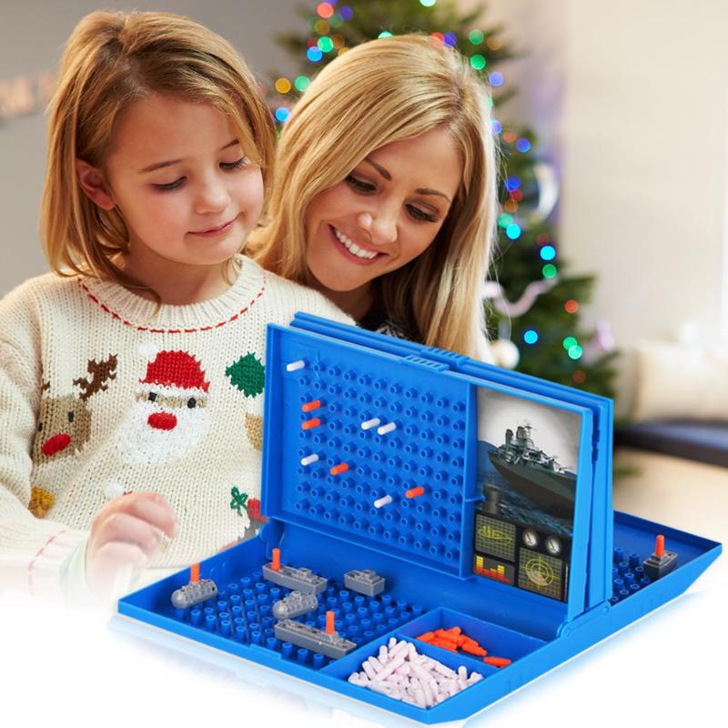 Sea Battle Traditional Toys Battleships Sea Battle Traditional Family Fun Combat Strategy Board Game For Children Board Game