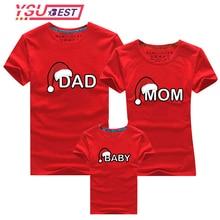 мамы и ребенка; одежда для всей семьи; Одинаковая одежда для мамы, папы и сына; рубашка для мамы и меня, дочки,Рождественская футболка для папы
