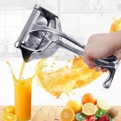 Manual da liga de alumínio imprensa mão espremedor citrino limão laranja romã extrator suco frutas cozinha gadgets