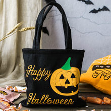 Cheap high quality Halloween Tote Bag Children's Gift Candy Bag Shopping bag storage bag 20x18.5 cm Halloween theme bag#10470(China)