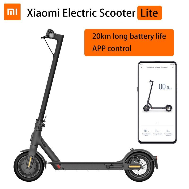 Xiaomi Mi Electric Scooter Essential Mijia Smart E Scooter Lite Skateboard Mini Foldable Hoverboard Patinete Electrico Adult Electric Scooters Aliexpress