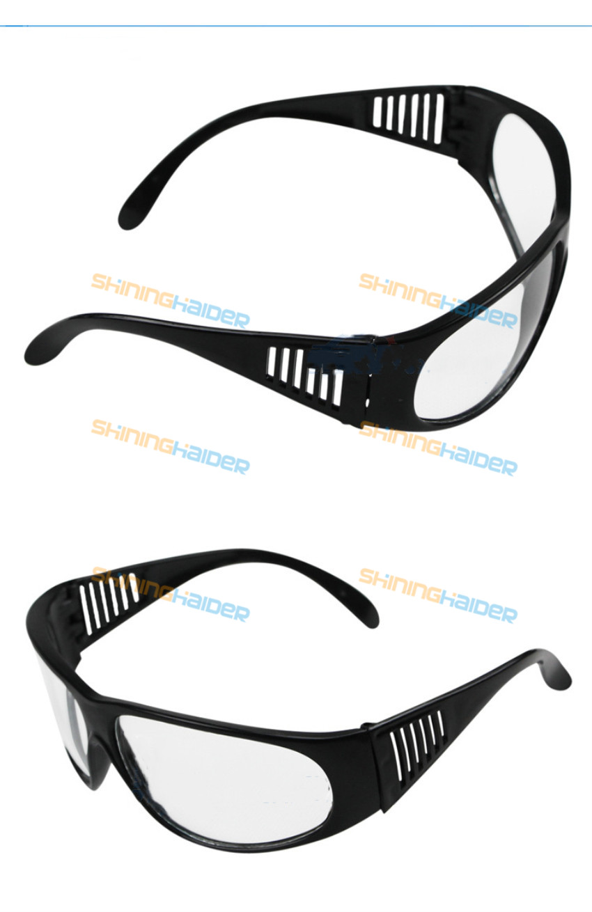 Flat Photoelectric Welding Glasses Labor Insurance Dustproof Sand-proof Industrial Riding Anti-splash Impact 209 Economic Transp