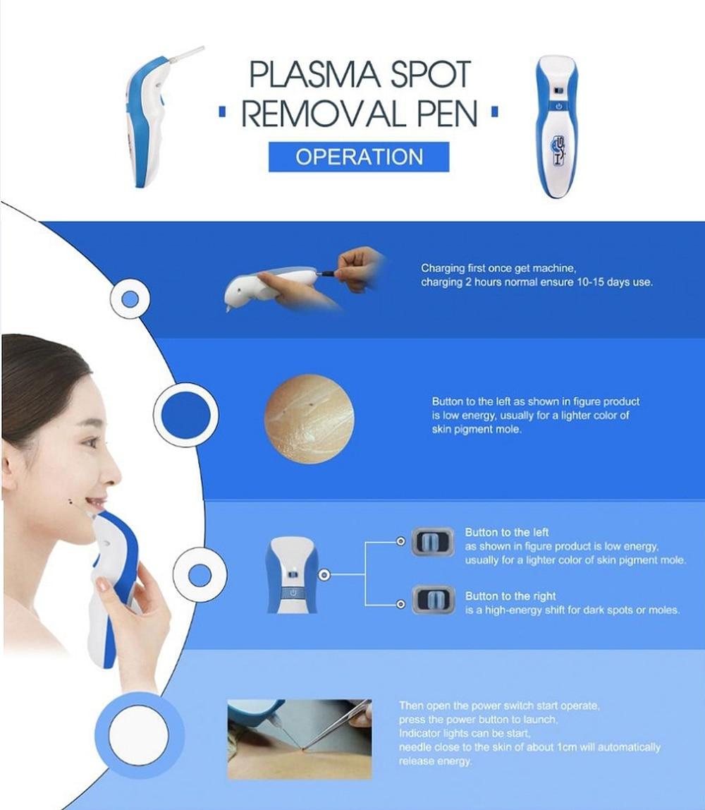 acne remoção de toupeira jato de plasma elevador