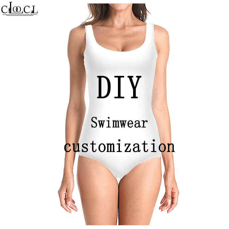 Tight Ladies Swimsuit <font><b>3D</b></font> Print DIY Personalized Design <font><b>Sexy</b></font> Swimwear Image/<font><b>Photo</b></font>/Star/Singer/Anime Harajuku One Piece Swimsuit image