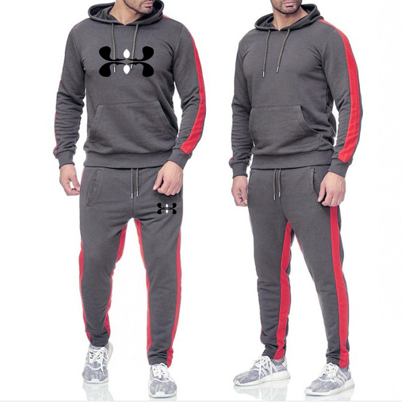 Brand Tracksuit For Men Hoodies White Men Tracksuits Hoodies 2019 Men's Clothing Sport Tracksuit Men Set Men's Clothing Autumn