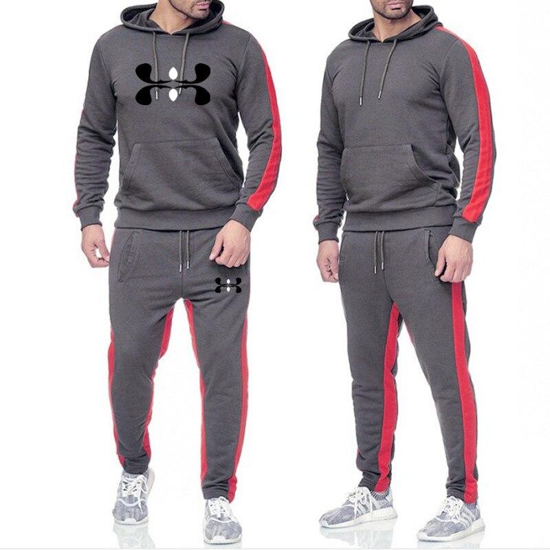 Brand Tracksuit For Men Hoodies White Men Tracksuits Hoodies 2019 Men's Clothing Sport Tracksuit Men Set Men's Clothing Autumn