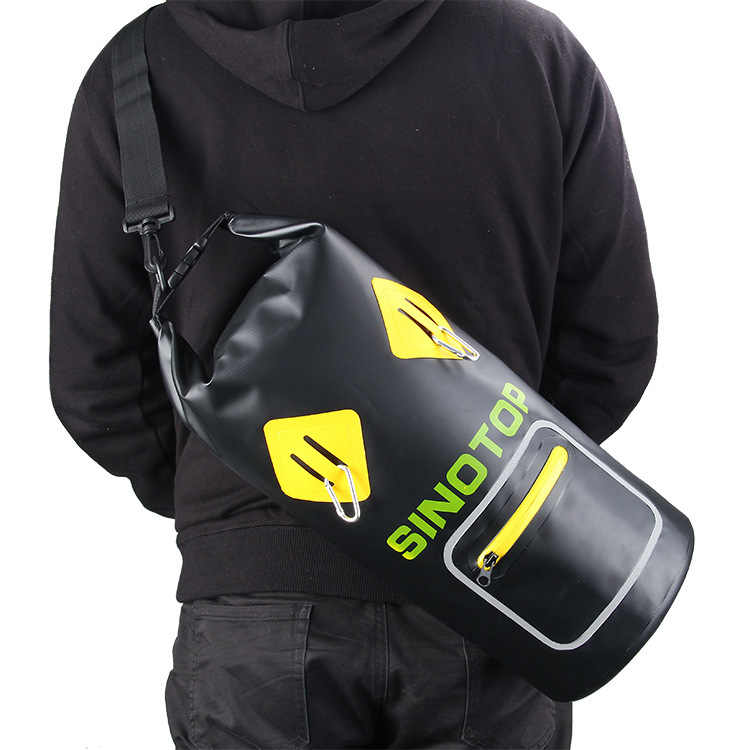 2019 новые продукты-стиль ПВХ покрытая сетчатая ткань 500D водонепроницаемая сумка-мешок для игр на открытом воздухе, сумка для дрифтинга воды