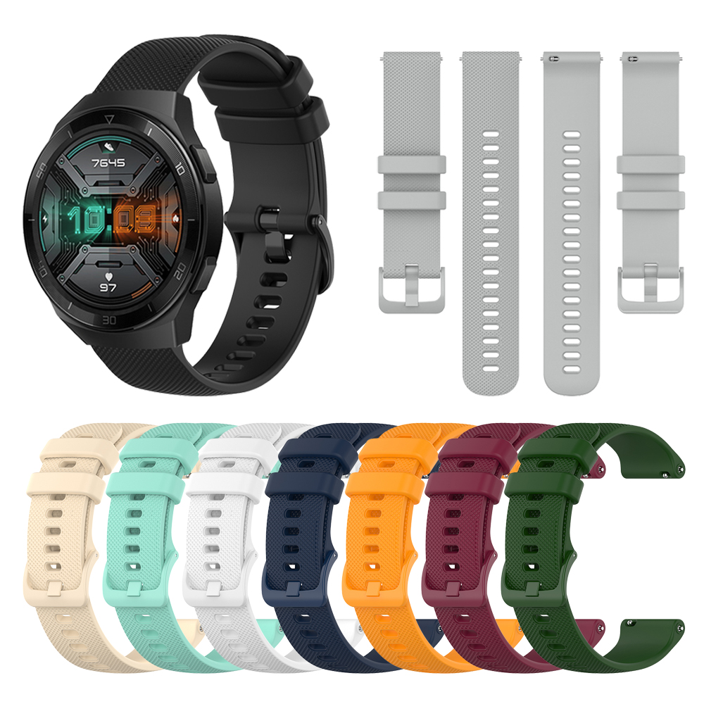 Wristband For HUAWEI WATCH GT 2e Silicone Strap Watchband Bracelet For HUAWEI GT2E Wriststrap Replaceable Accessories