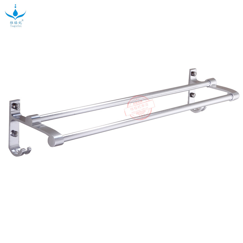 New Style With Hook Bunk Bed Double Poles Rough Thick 14 Tube Alumimum Towel Rack Mirror Polishing Manufacturers