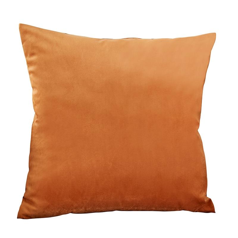Housse de coussin Orange 40 x 40 cm - 4 Tailles au choix