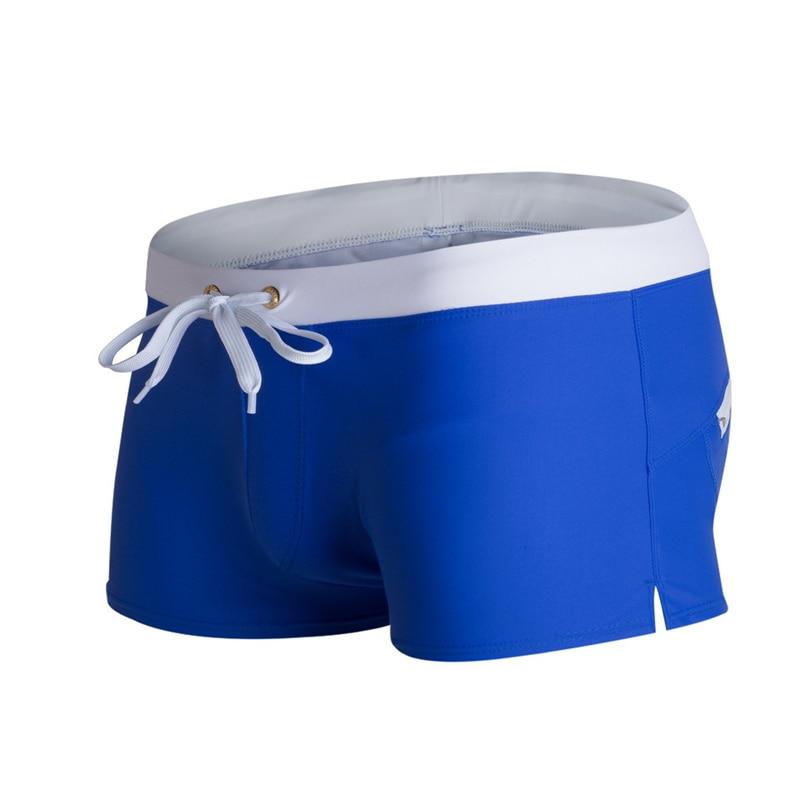 2020 Summer Men Swimwear Swimsuits Swimming Sexy Shorts Trunks Mens Swim Sunga Beach Surf Board Shorts Briefs Suit Gay Erkek