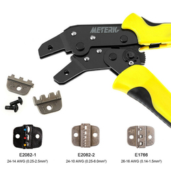 PARON JX 1601 08 szczypce szczypce drut inżynieria Ratchet szczypce do zaciskania końcówek JX 48B 3.96 do 6.3mm 26 16AWG narzędzia ręczne Kombinerki    -