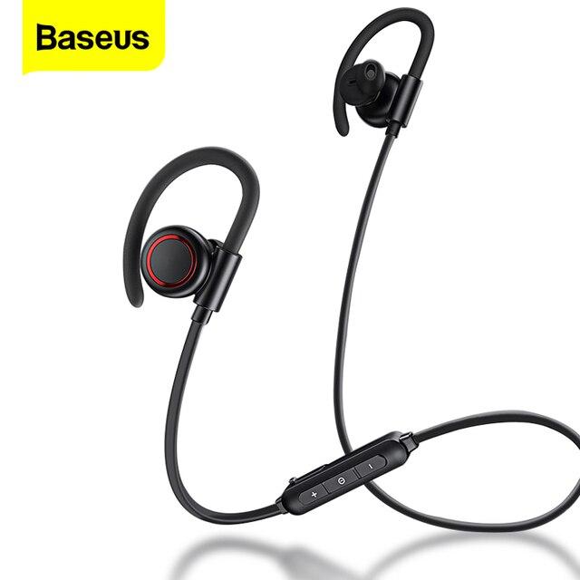 Baseus S17 스포츠 무선 이어폰 블루투스 5.0 이어폰 헤드폰 샤오미 아이폰 이어폰 버드 핸즈프리 헤드셋