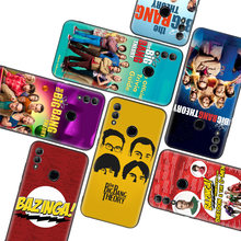 The Big Bang Theorys Black Case for Huawei Y9 Y5 Y6 Y7 2019 Honor 10 9 Lite 9X 8X 8S 8A 7S 7A 10i 20i V20 Phone Coque Capa(China)