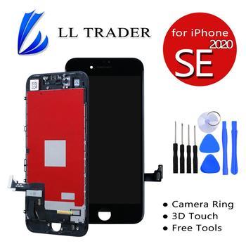 Dla iPhone SE2 SE2020 ekran wyświetlacza wymiana LCD ekran dotykowy Digitizer 3D dotykowy darmowe narzędzia 100 testowane nie martwy piksel tanie i dobre opinie LL TRADER NONE CN (pochodzenie) Ekran pojemnościowy 1334x750 3 Ekran TFT for iPhone 8 LCD i ekran dotykowy Digitizer