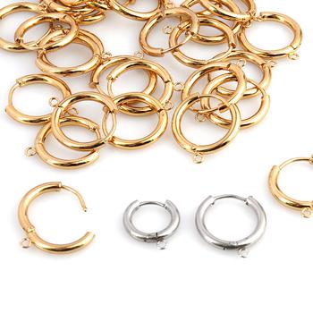 5 sztuk wysokiej jakości kolczyk ze stali nierdzewnej francuski kolczyki haki kolczyki Making DIY biżuteria kolczyk akcesoria do rękodzieła tanie i dobre opinie CN (pochodzenie) 8 6g Kolczyk ustawienia as the picture shows linki do biżuterii Metal STAINLESS STEEL D0313-D0316 earring hooks