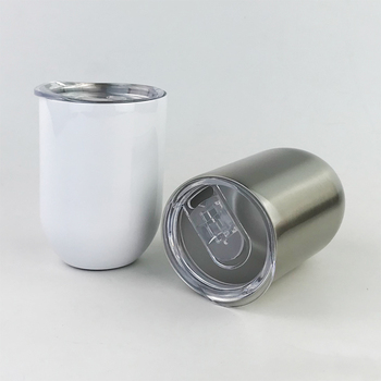 300ml 10oz Car thermos Bottle Cup Blank Sublimation Transfer Prtinting by Sublimation INK DIY Transfer Heat Press Printing