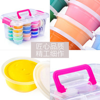 Ultra Light Clay Children Non toxic Colored Clay Tool Kit Handmade DIY for Making Clay 3D Plasticene