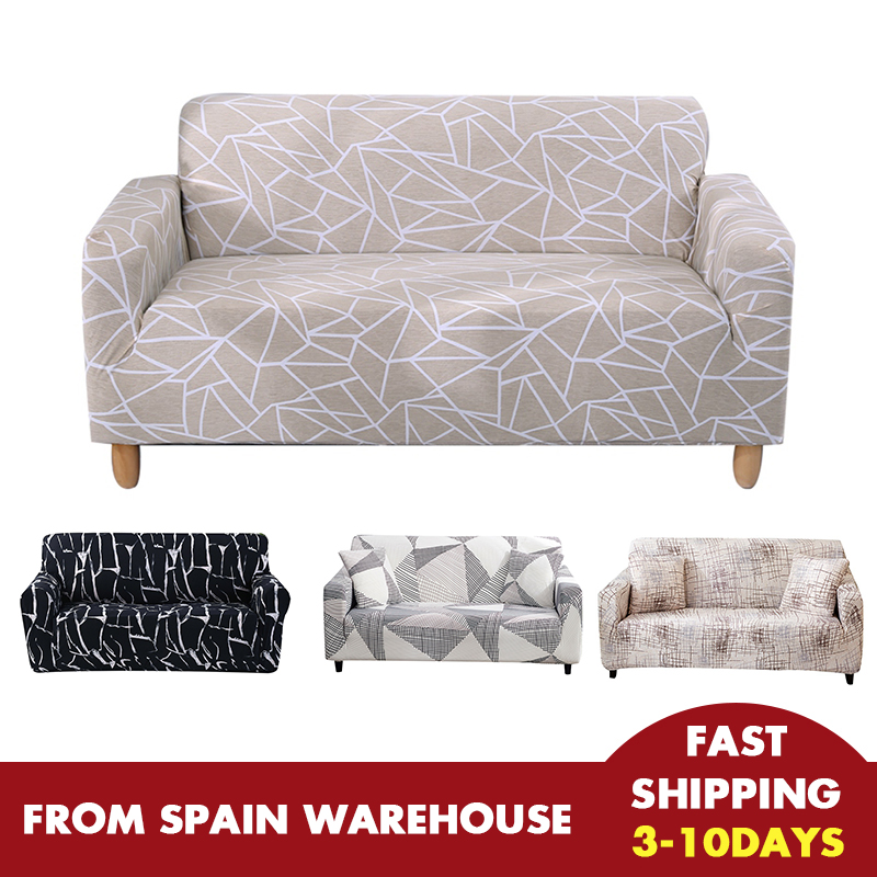 Elastic Stretch Sofa Cover For Living Room Couch Cover L Shape Cover Slipcovers Sectional Single/Two/Three Seat Funda Sofás