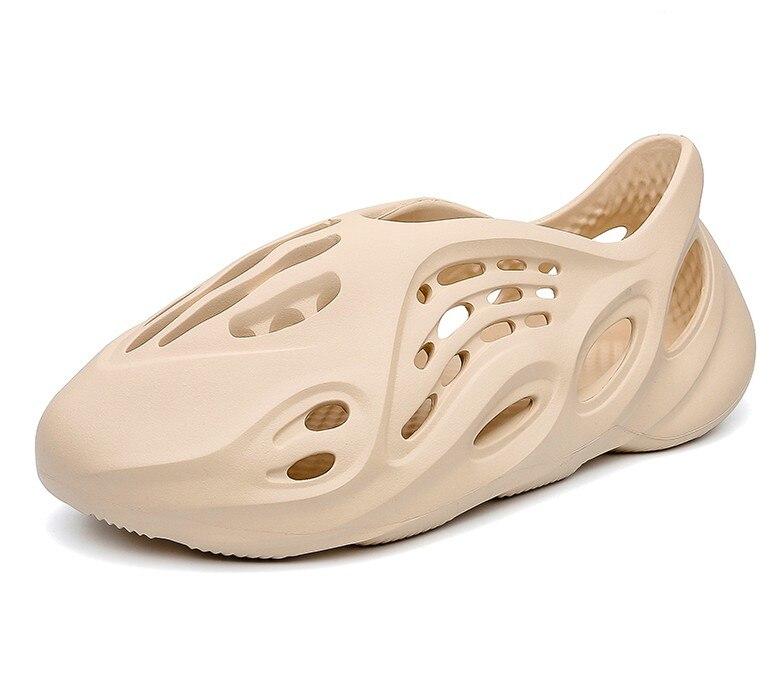 Sexemara  Kanye West  Men Fashion  Women Foam Runner Summer Men's Slide, Casual Slippers Beach Shoes  Eva Injection Shoes Slides