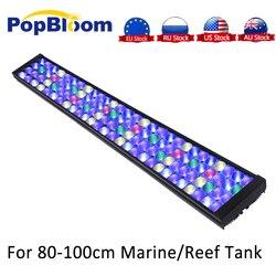 PopBloom Aquarium Led Beleuchtung Aquarium Licht Lampe Für Marine Korallenriff led licht Salzwasser Mit Smart Controller Turing75
