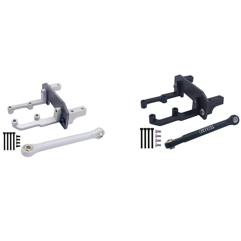 1:10 metall servo halterung für axial scx10 cc01 d90 rc fahrzeug modell