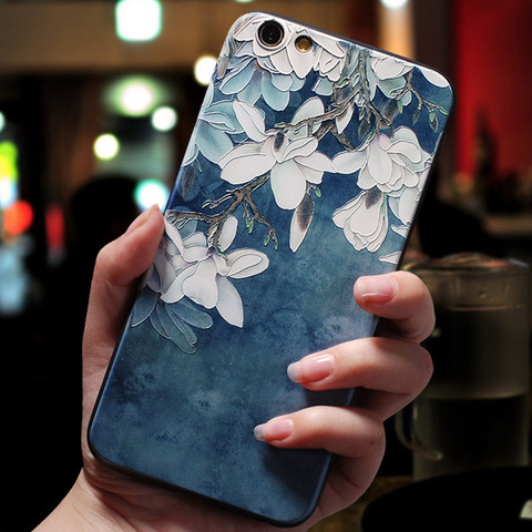 For Xiaomi Redmi 7A Case 3D Flower Emboss Silicone Phone Cases For Xiaomi Redmi Note 7 7s Pro Cover Redmi7 Note7 Redmi 6A Soft Islamabad
