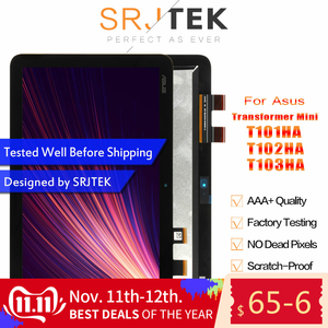 Srjtek Voor Asus Transformer Mini T103HA T103HAF T102HA T101HA T101H Lcd Display Matrix Touch Screen Digitizer Sensor Vergadering