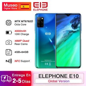 Перейти на Алиэкспресс и купить ELEPHONE E10 смартфон с 6,5-дюймовым дисплеем, восьмиядерным процессором, ОЗУ 4 Гб, ПЗУ 64 ГБ, 48 МП, Android 10