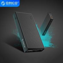 ORICO QC3.0 güç bankası 10000mAh BC1.2 tip c İki yönlü hızlı şarj 18W Max çıkış harici pil Samsung Xiaomi için