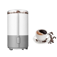 Electric Coffee Grinder Spice Maker Stainless Steel Blades Coffee Beans Mill Herbs Nuts Cafe Home Kitchen Tool(EU Plug)|Coffee Makers| |  -